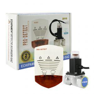 Detector cu electrovalva 3/4″ la 12Vcc Pro Detect