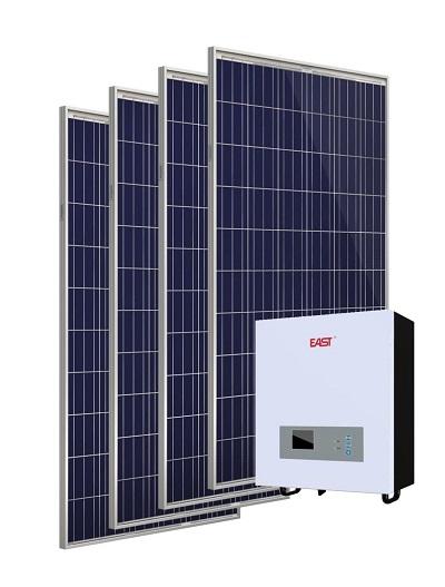 sistem solar fotovoltaic cu invertor 1000W