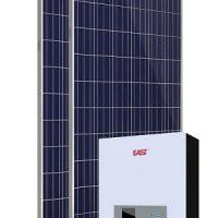 Sistem fotovoltaic cu invertor 500W